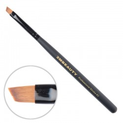Pensula pentru gel 2M Black Beauty din par natural One Stroke nr. 02